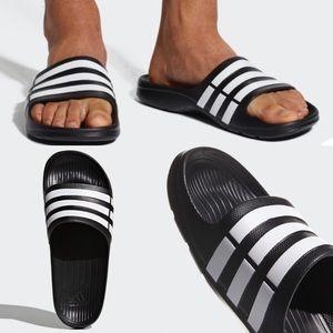 NWT Adidas Performance Duramo Slides Sandal